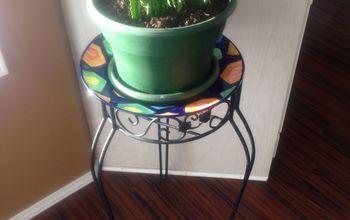 DIY Plant Stand Make-Over