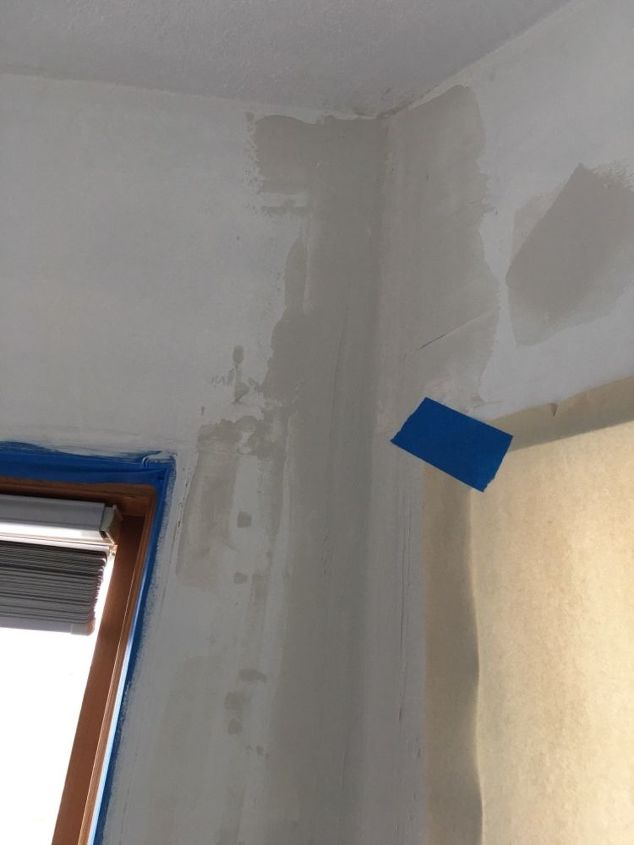 q how do we disguise ugly drywall seams in our 3 window kitchen bumpout