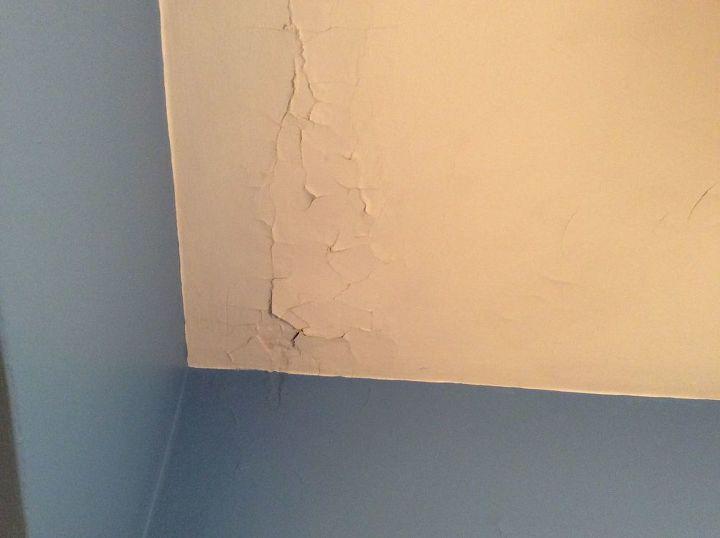 q how to repair ceiling