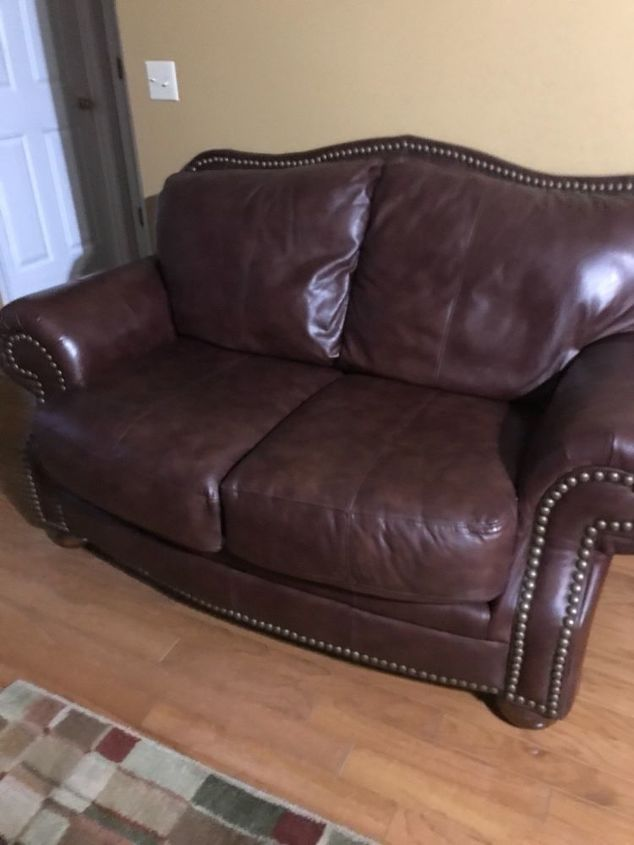 q is there any way to dye leather furniture with out it coming off