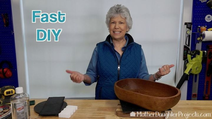 how to recondition a wood bowl or cutting board