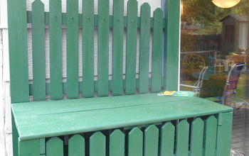 How To Repaint and Update A Garden Workbench