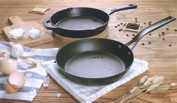 How to Clean a Cast Iron skillet (pixabay)