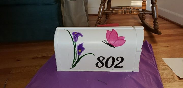 q how do i seal my painted mailbox