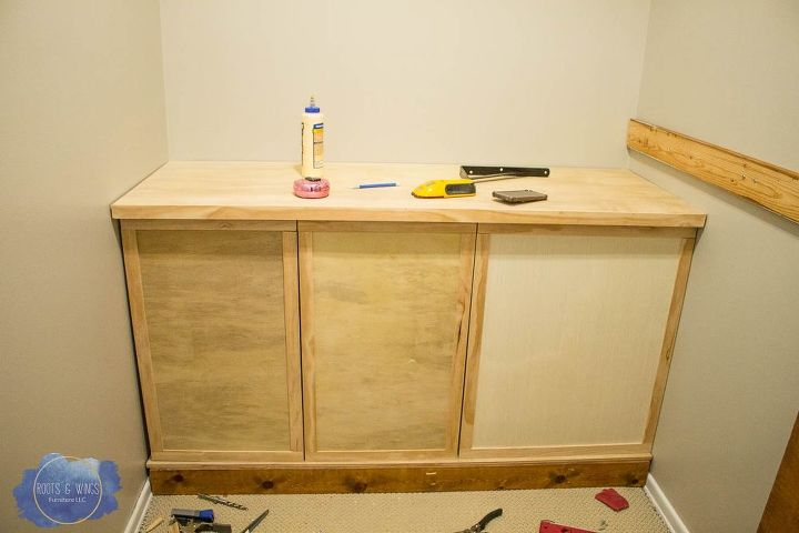 how to build a laundry basket dresser