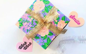 Creative Gift Box Makeover