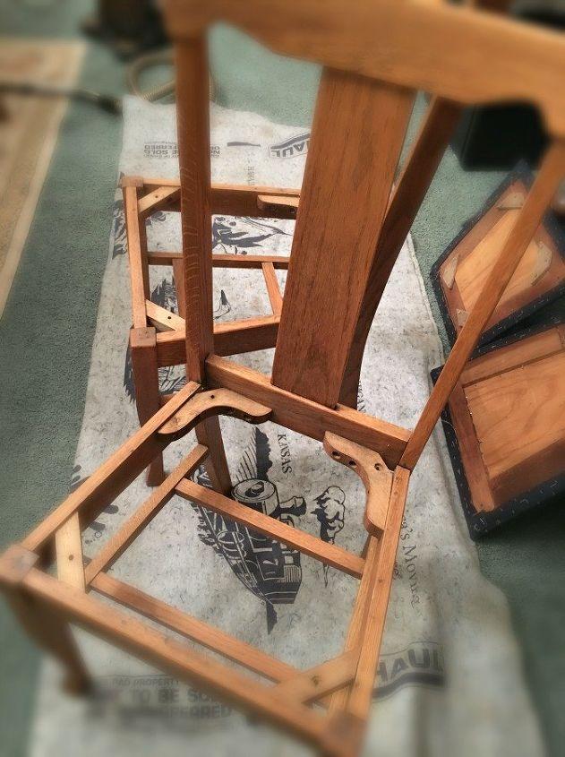 farmhouse style chair makeover