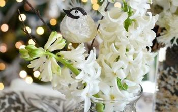 Winter Nesting Floral Arrangement and Centerpiece