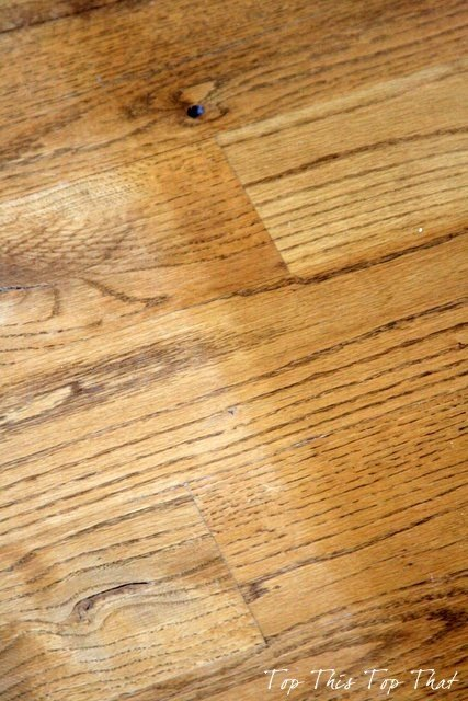 Best Way to Clean Wood Floors (Duke Manor Farm)