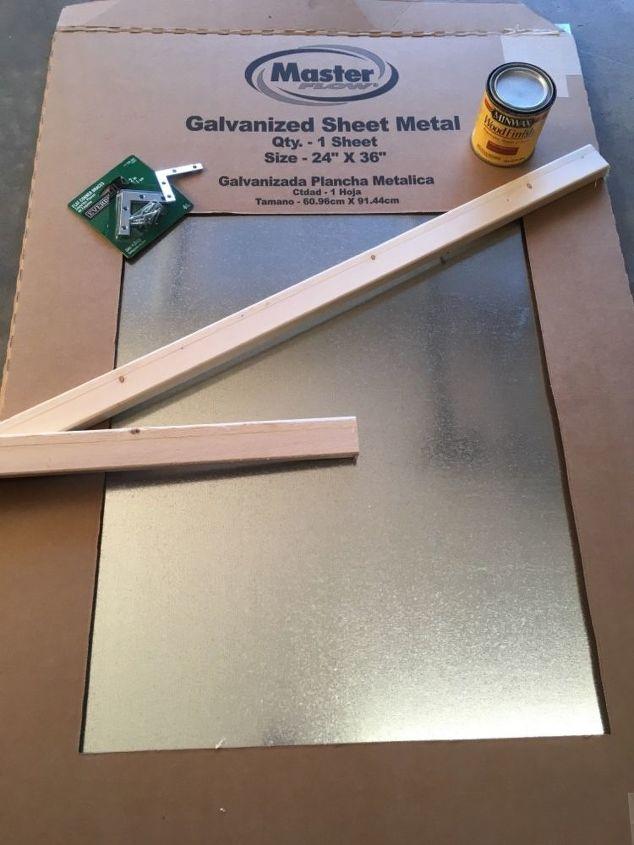 rustic magnetic board