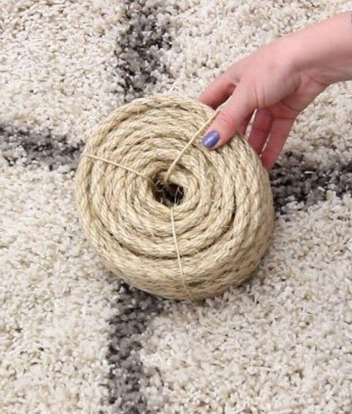 diy round rope area rug