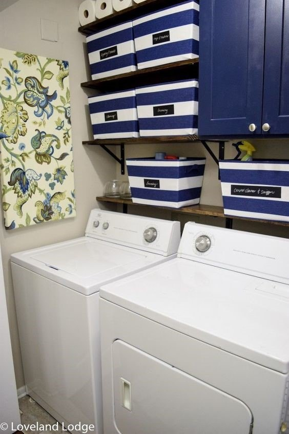 Laundry Room Decor Ideas (Jenn Marsh)