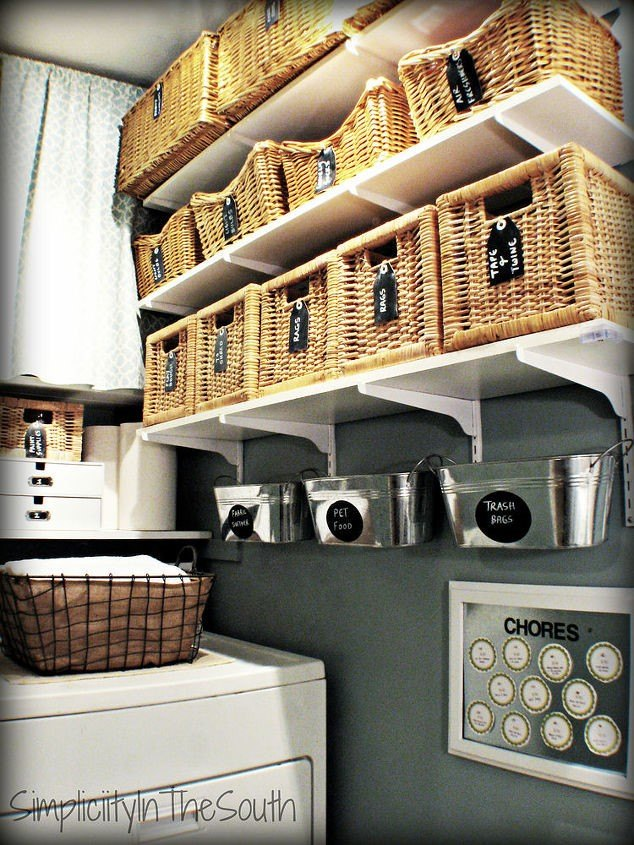 Laundry Room Accessories Decor (Tricia @ Simplicity in the South)