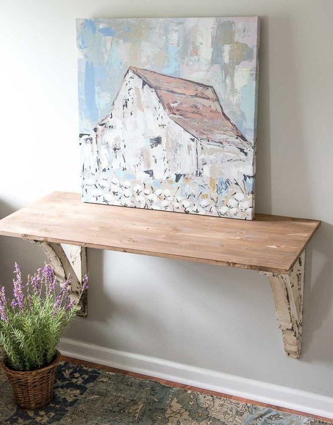 diy corbel table