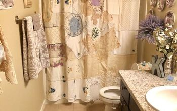 Shower Curtain With Vintage Flair