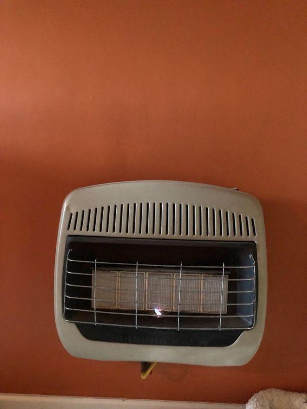 How Do I Make My Gas Wall Heater Look More Like A