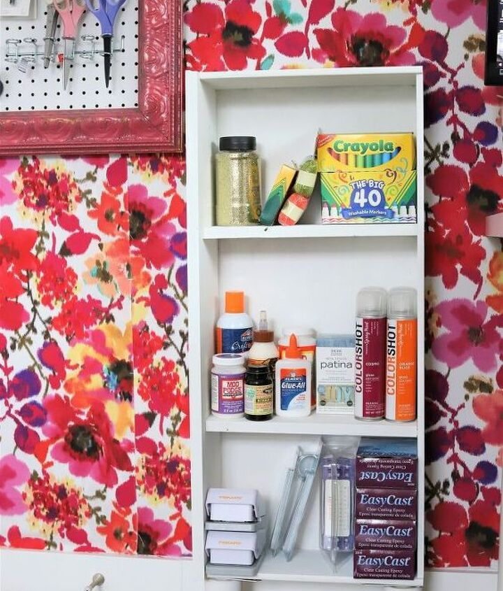 a storage solution from an old dresser drawer