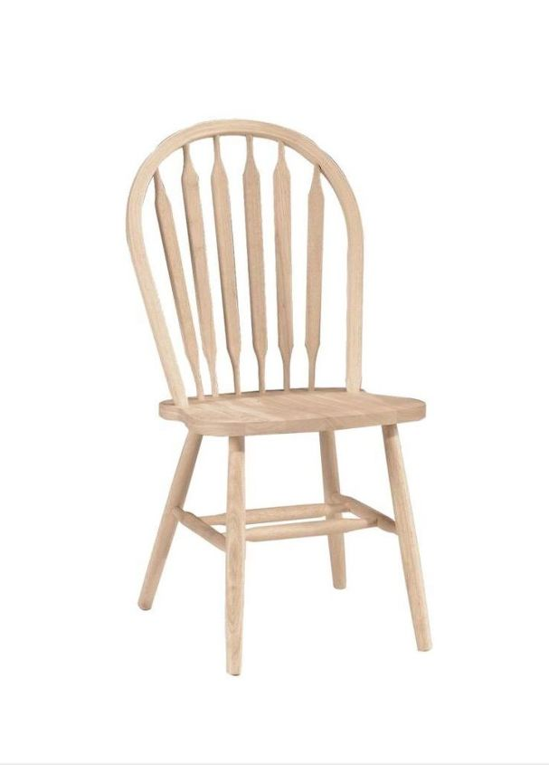 We had 3 of these Windsor chairs.