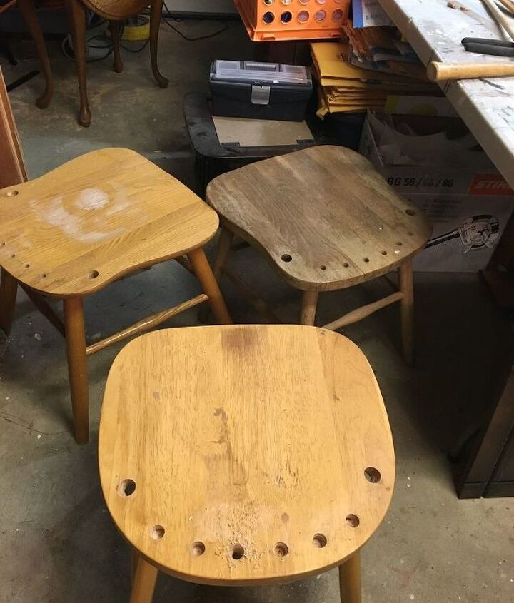 chair turned to stool