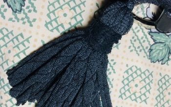 Tassels From Old Panyhose or Nylon Socks.