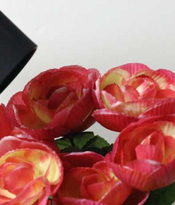 diy soy wax dipped roses