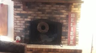 How Do I Update And Old Brick Fireplace For Cheap Hometalk