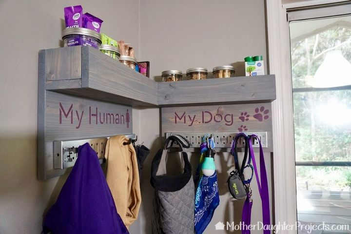 diy storage for pet treats and supplies