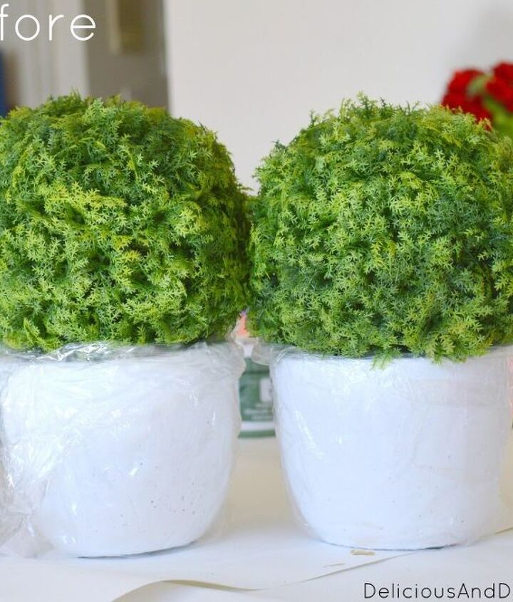 diy textured pots