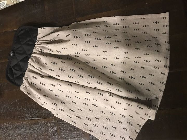 farmhouse hanging kitchen towel tutorial