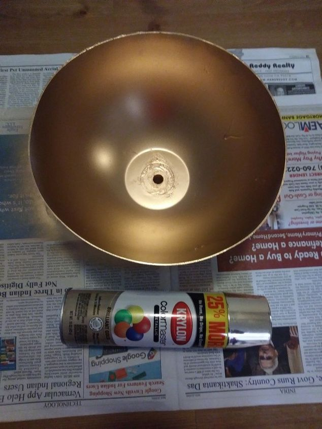 lampshade flower vase