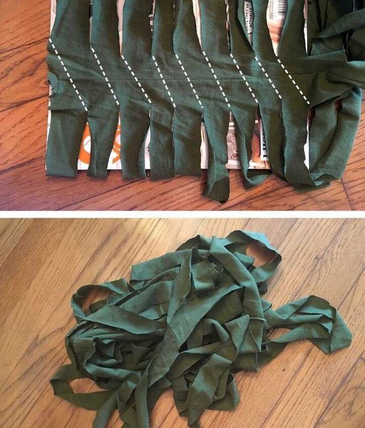 shirt braided plant mats trivets coasters