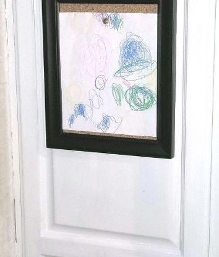 children s art display farmhouse style