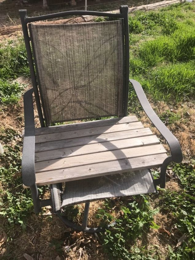q how can i repair these outdoor chairs