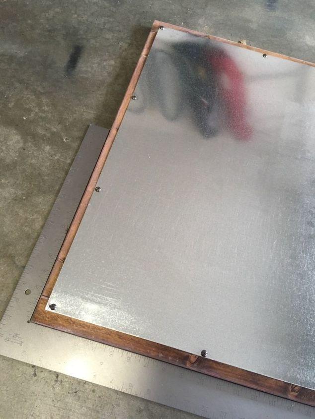How To Make A Rustic Diy Magnetic Board Hometalk