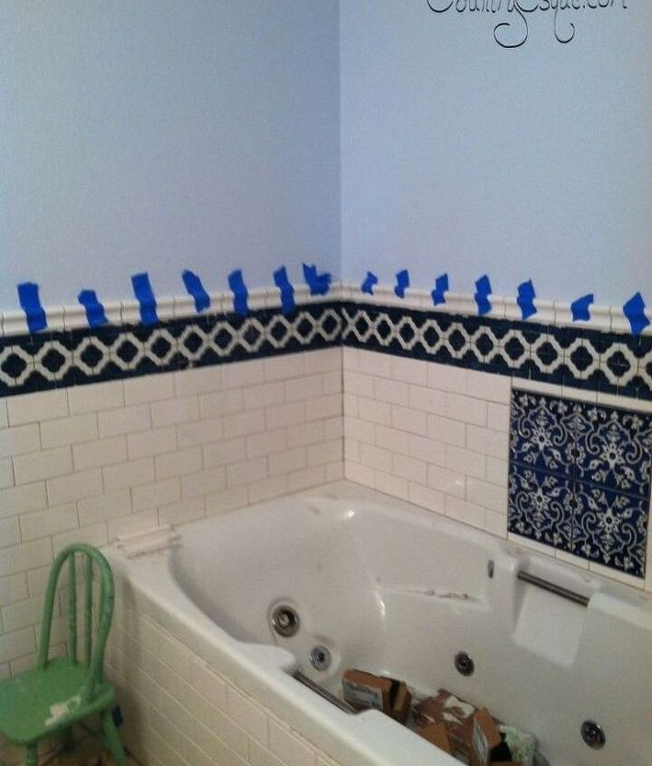Bathroom Makeover Before and After (Kati Urbanek-Countryesque)