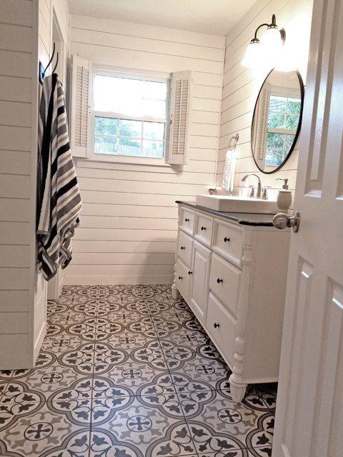 Guest Bathroom Complete Remodel (Vintage Street Designs)