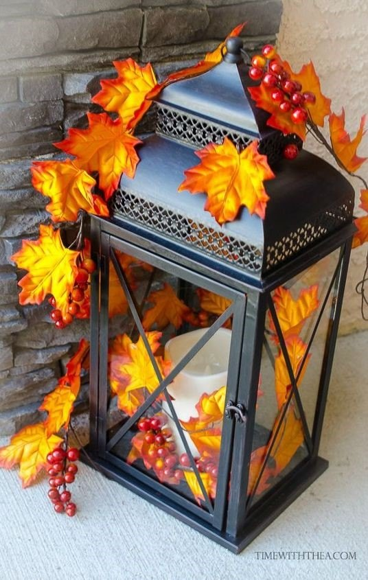 Turn a Basic Lantern into a Gorgeous Outdoor Decor Accessory (Time with Thea)
