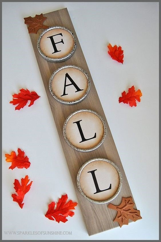 Upcycled DIY Home Decor For Fall (Christie @ Sparkles of Sunshine)