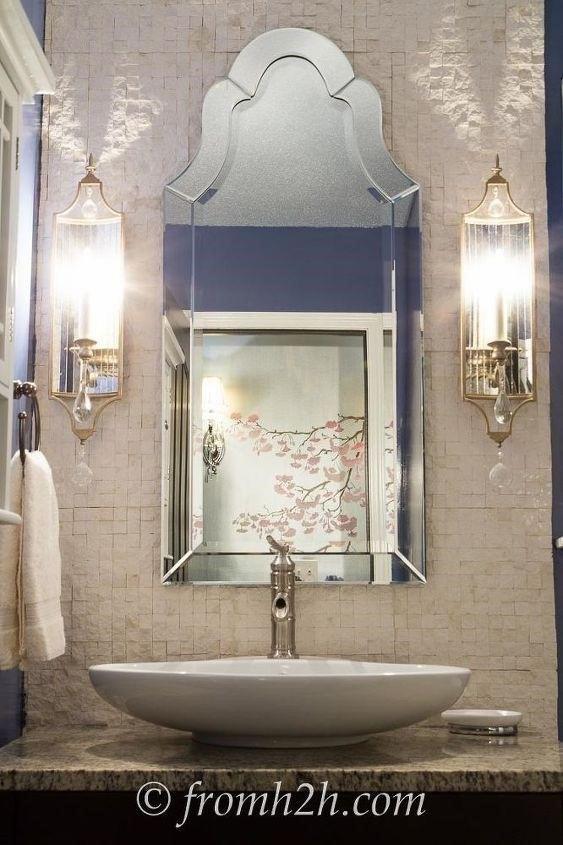 Bathroom Decor Ideas (Wanda @ From House To Home)