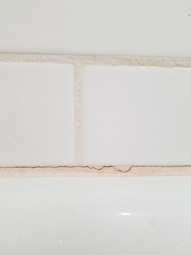 q how do i fix cracks in my grout