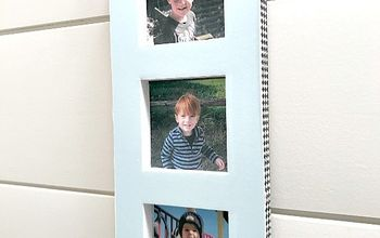Recycled and Repurposed Photo Display