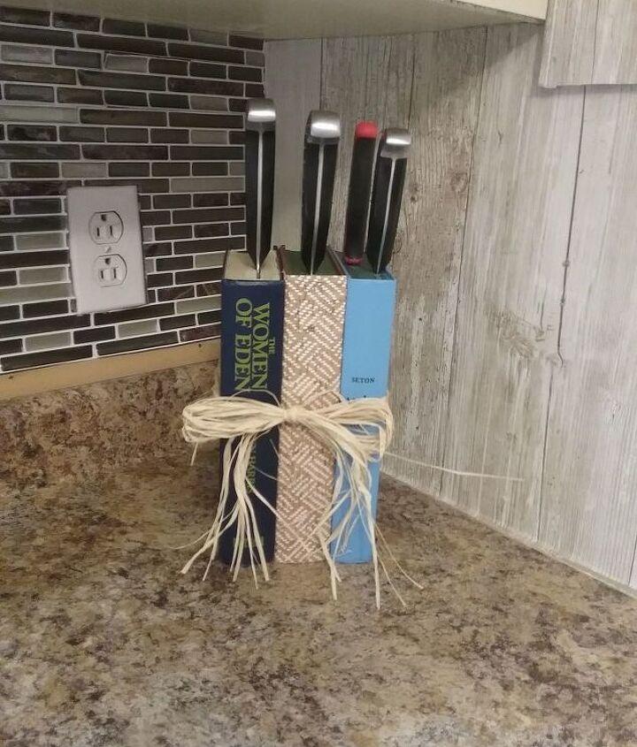 book knife block