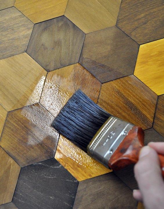Sealing the hexagons