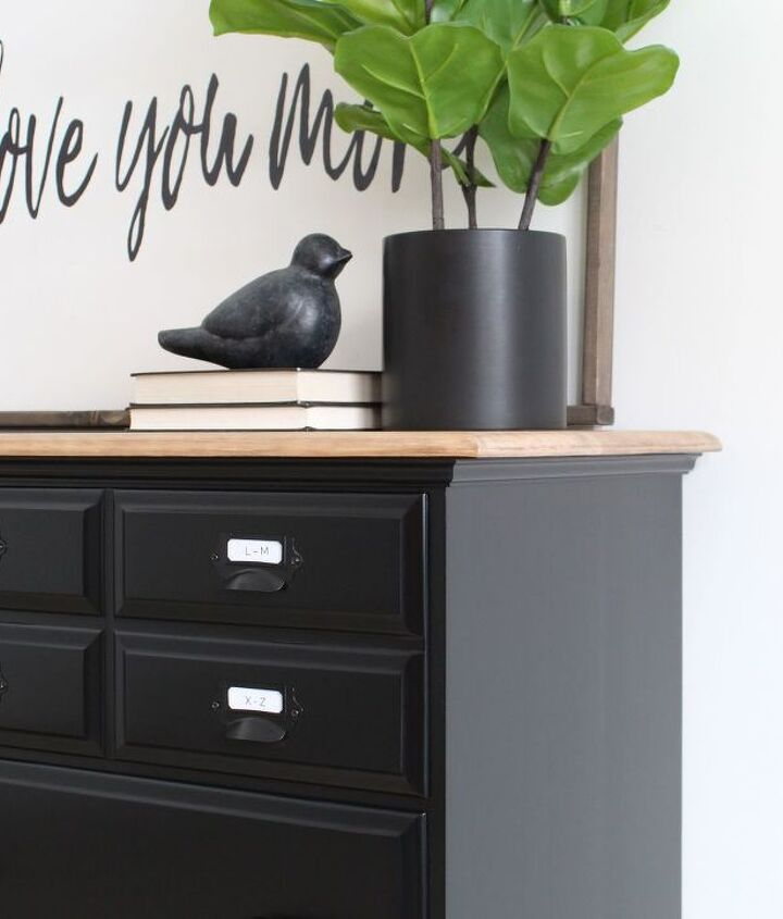 how to paint black furniture one of the hardest to get right