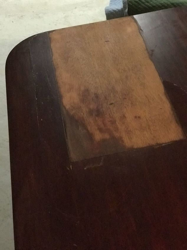 q how can i most easily refinish the top of this table