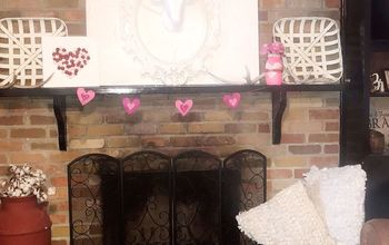 Make the Easiest Valentine's Day Banner for Less Than $5.