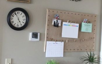 How to Cover a Bulletin Board With Burlap