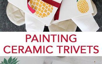 DIY Ceramic Pineapple Trivet