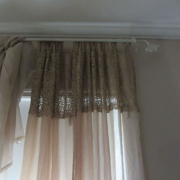 oh no uneven curtains and i don t like to sew