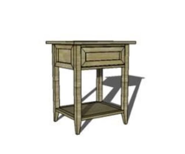 farmhouse bedroom set the side tables